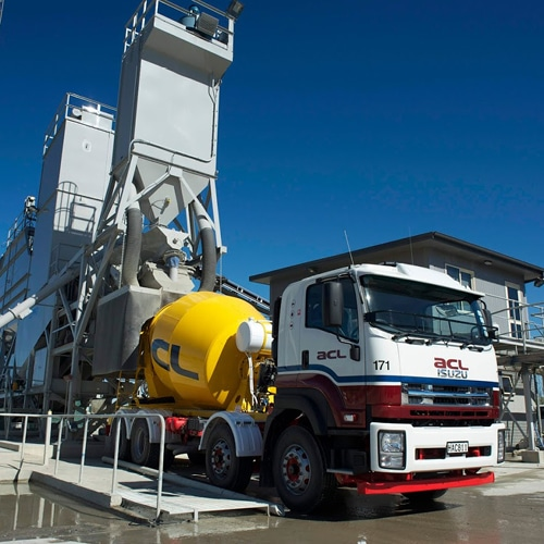 ACL Concrete Mixer and loading station