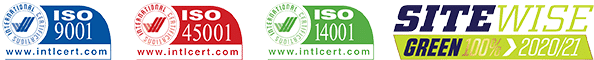 ACL ISO Accreditation SiteWise 2020-21 logo 60px x 595